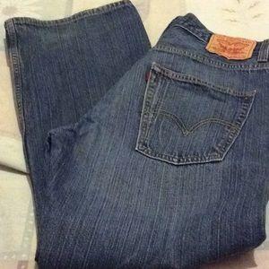 Levi loose straight 569 jeans, 32 waist 30 length